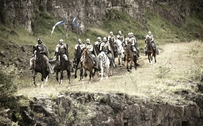 Wallpaper the series, riders, Saga, cavalry, game of thrones, a song of ice and fire, George ...