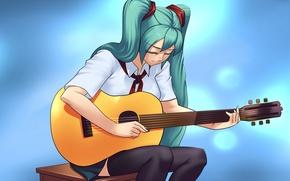 Picture Guitar, Summer, summer, Miku, Miku, Endless Summer, The mediator, everlasting