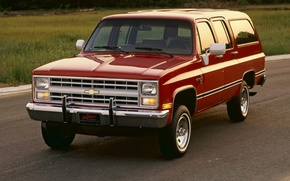 Picture Chevrolet, 1982, Suburban, Chevrolet.the front, Scottsdale