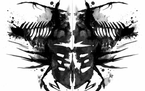 Picture Dead Space, art, Rorschach test