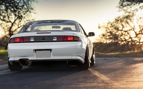 Picture Silvia, Nissan, white, jdm, 200sx, s14, stance