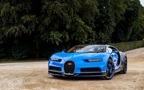 Picture Bugatti, Blue, 2016, Chiron