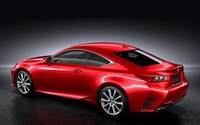 Picture Lexus, red, 300h, jp-spec