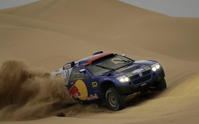 Picture the dunes, Volkswagen, Touareg Race