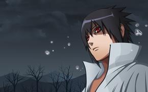 Wallpaper eyes, look, Anime, Naruto, Naruto, art, Sharingan, Uchiha Sasuke, Uchiha Sasuke