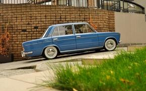 Picture background, car, classic, Lada, vaz, LADA, low classic, Resto, VAZ 2103