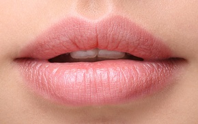 Picture woman, lips, teeth
