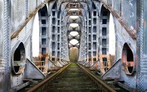 Picture road, bridge, background