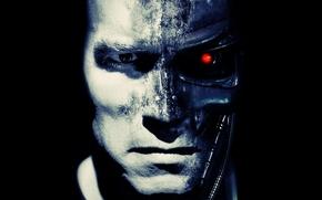 Wallpaper t-800, Terminator, Arnold Schwarzenegger, Arnold Schwarzenegger, terminator, robot