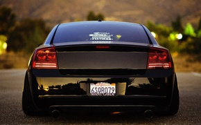Picture style, ass, srt, dodge, charger, back, stance works, Dodge charger, stance nation