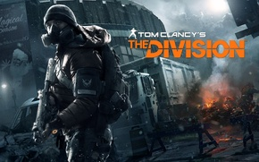 Picture Game, The building, Soldiers, Weapons, Ubisoft, Game, Tom Clancy's The Division