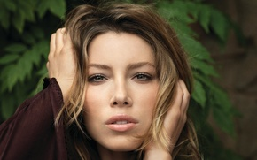 Picture girl, face, actress, lips, beauty, Jessica Biel, Jessica Biel, hair.eyes