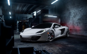 Picture McLaren, Front, MP4-12C, Tuning, Supercars, Wheels, ADV.1, ADV6 TS