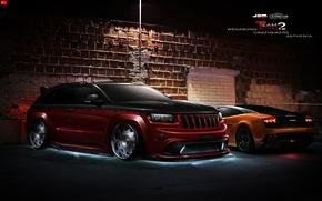 Picture design, night, jeep, wegabond