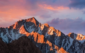 Picture mountains, apple, mac, OS X, macOS Sierra