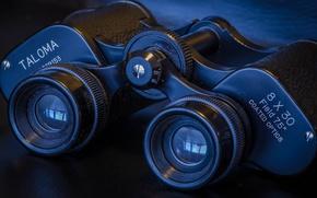 Picture macro, background, black, optics, binoculars