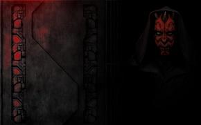Picture Star wars, A Sith Lord, dart maul, Zabrak