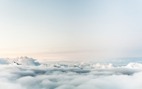 Picture sky, blue, Sea Of Clouds