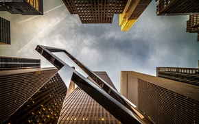 Picture city, wallpaper, building