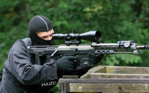 Picture sniper, rifle, dsr 50
