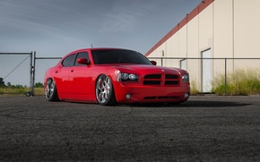 Picture wheels, dodge, charger, before, garde