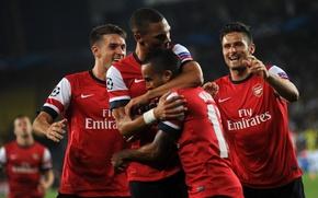 Picture Arsenal, Champions League, Walcott, Football Club, The Gunners, Goal, Gunners, Arsenal FC, Giroud, Ramsey