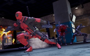 Picture The game, Deadpool, Marvel, Deadpool, Game, Wade Wilson, Marvel, Wade Wilson