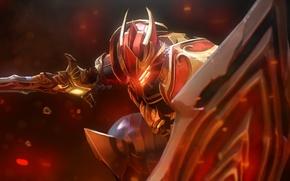 Picture knight, Dota 2, Dragon Knight, Davion, legacy of the eldwurm crest