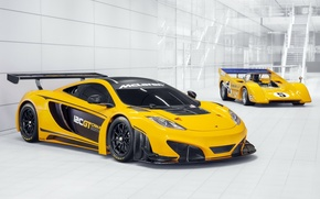 Picture background, McLaren, 1970, the front, racing cars, 12C, Can-Am Edition, McLaren M8D