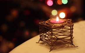Picture background, holiday, candle