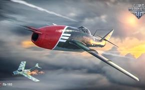 Picture clouds, USSR, World of Warplanes, La-160