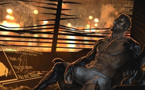 Wallpaper deus ex, Deus Ex: Mankind Divided, cyborg, Adam Jensen, art