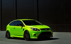 Picture green, Ford, wall, focus