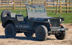 """Picture car, military, Jeep, WW2, """"Willis"""""""