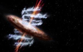 Picture stars, galaxy, Sci Fi