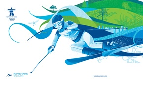 Picture ski, Vancouver, Olympics 2010