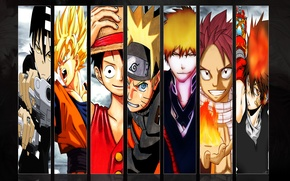 Picture Wallpaper, anime, the main characters