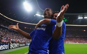 Picture England, Sport, Football, Football, Chelsea, Champions League, Allianz Arena, Allianz Arena, Chelsea FC.Champion, Didier Drogba, …