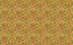 Picture flowers, branches, background, Wallpaper, foliage, texture, ornament, floral patterns