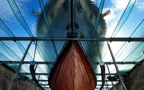 Picture ship, England, nose, Bristol