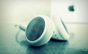 Picture deepho, apple, headphones, headphones