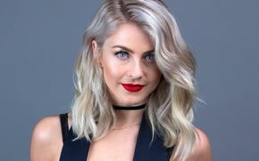 Picture portrait, actress, blonde, Julianne Hough, Julianne Hough