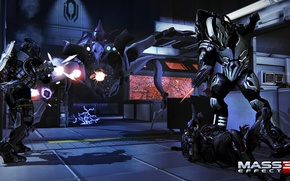 """Picture Roy, Mass Effect 3, addition of """"Retribution"""", collectors, DLC Retaliation, Praetorian, turian soldiers Ravager, bloodhounds, …"""