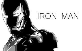 Picture iron man, marvel, comics