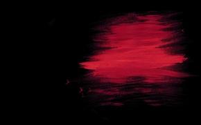 Picture strip, paint, black background, spot