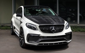 Picture white, Mercedes-Benz, Mercedes, crossover, Ball Wed, C292, GLE-Class