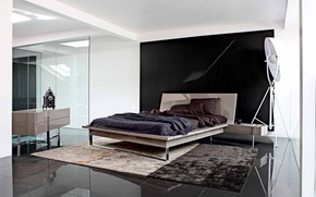 Picture design, house, style, room, Villa, interior, bedroom, minimalist bedroom