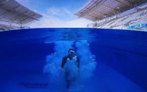 Picture Olympics, Brazil, Rio de Janeiro, Maria Lenk Aquatics Center, water sports