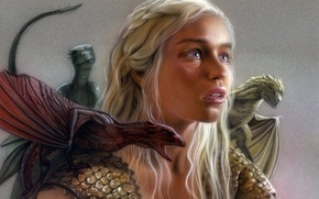 Picture dragon, the series, Series, dragon, Game of thrones, Emilia Clarke, Daenerys Targaryen, Game of thrones, …