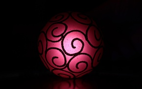 Picture balls, decoration, new year, toy, ball